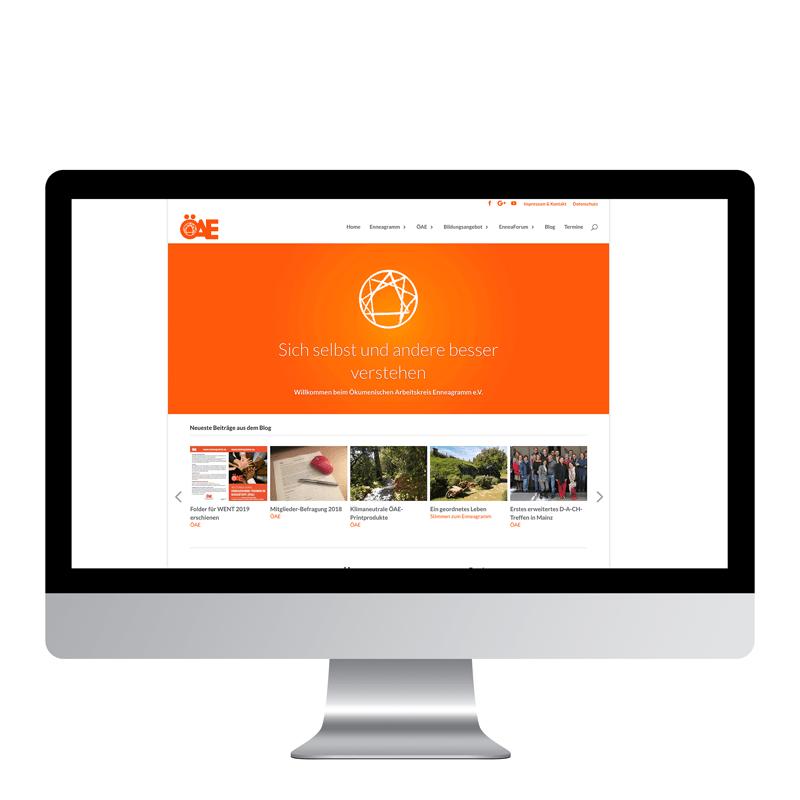 Relaunch der Webseite des ÖAE
